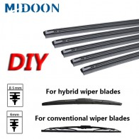 US $1.54 43% OFF|MIDOON 1pcs Car Insert Rubber Strip Windscreen Wiper Blade (Refill) 8.5mm/6mm Soft 14