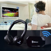 US $17.61 20% OFF|2019 Bingle B616 Wireless 2.4G Headphone Ergonomic Headset With FM for PC TV Cellphon-in Headphone/Headset from Consumer Electronics on Aliexpress.com | Alibaba Group