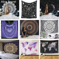 US $7.29 |Big Size Mandala Tapestry India Polyester Printed Tapestry Boho Printed Bedspread Cover Home Decoration Bedsheet Wall Art-in Blankets from Home & Garden on Aliexpress.com | Alibaba Group