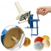 Ручной трикотажная пряжа намотки волокно шерсть Строка Мяч Моток машина высокое качество вращающийся шерсть пряжа обмотки