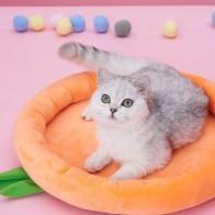 Коврик для ящика для домашних животных  в оранжевой форме 1шт