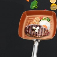 US $16.07 15% OFF|Non Stick Copper Frying Pans Square Griddles Skillets With Ceramic Coating Fast Heating Pans Induction Cooker Safe Z30-in Pans from Home & Garden on Aliexpress.com | Alibaba Group