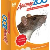 Мультивитаминное лакомство Доктор ZOO для крыс и мышей, 60 таблеток — купить в интернет-магазине OZON с быстрой доставкой