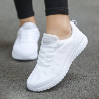 US $11.97 49% OFF|Summer autumn shoes women sneakers flat heels women casual sport sneakers sadies breathable women shoes Tenis flats Plus Size-in Women's Flats from Shoes on Aliexpress.com | Alibaba Group - Wishlist