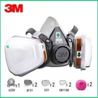 9in1 3 м 6200 половина лицевая маска респиратор с 6001/2091 фильтр Fit живопись распыления пыли-in Маски from Безопасность и защита on AliExpress - Маски-респираторы. Сами знаете против чего.