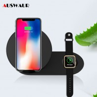 US $20.89 5% OFF|Fast QI Wireless Charger for Samsung Gear S2 S3 S4 Note 9 Watch Wireless Charger for Apple Watch iWatch 1 2 3 4 iPhone Charger -in Wireless Chargers from Cellphones & Telecommunications on Aliexpress.com | Alibaba Group