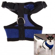 Nylon Pet Puppy Cat Soft Mesh Dog Harness Strap Vest Collar for Small Medium-sized Neck Collar Chest Strap Dog Leash Pet Product