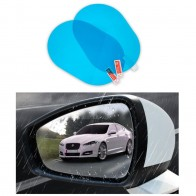 2 Pcs Car Rainproof Film Car Car Rearview Mirror protective Rain proof Anti fog Waterproof Film Membrane Car Sticker Accessories