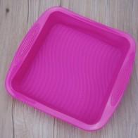 Легкая очистка силиконовая форма для выпекания хлеба, тостов квадратная форма для торта высокая термостойкость кухонная форма для выпечки ...