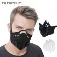 GLORSUN máscara de polvo neopreno nuevo producto de moda personalizado impreso algodón n95 anti pm2.5 máscara de polvo de smog ciclismo n95 máscara-in Mascarillas from Belleza y salud on AliExpress