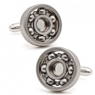 US $3.99 |Free shipping Ball Bearing Cufflinks Functional Rotatable Diversity of Mechanic Vintage Metal Color Bearing Design Cuff Links-in Tie Clips & Cufflinks from Jewelry & Accessories on Aliexpress.com | Alibaba Group