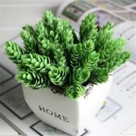 103.98 руб. 20% СКИДКА|1 букет 6 шт. домашний декор высокая имитация зеленый лист трава, растения ананас травянистое украшение для дома искусственный цветок-in Искусственные Растения from Дом и сад on Aliexpress.com | Alibaba Group