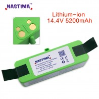 US $37.18 34% OFF|NASTIMA 5.2Ah 14.4V  Lithium Battery For iRobot Roomba Cleaner 500, 600, 700, 800, 980 Series with [UL&CE Certified]-in Rechargeable Batteries from Consumer Electronics on Aliexpress.com | Alibaba Group