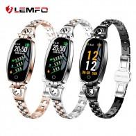 1961.07 руб. 20% СКИДКА|LEMFO H8 Смарт часы женские 2018 водонепроницаемый мониторинг сердечного ритма Bluetooth для Android IOS фитнес браслет «Умные» часы-in Смарт-часы from Бытовая электроника on Aliexpress.com | Alibaba Group