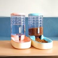 2 шт./компл. Cat кормушки для Автоматические кормушки для собак собака диспенсер для воды Фонтан бутылки для кошачья миска для кормления и питьевой воды - Для моей собаки