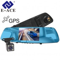 US $55.23 42% OFF|E ACE Car DVR Dash Camera 5.0 Inch GPS Tracker Rearview Mirror 1080P Video Recorder Auto Registrar Dvr With Rearview Camera-in DVR/Dash Camera from Automobiles & Motorcycles on Aliexpress.com | Alibaba Group