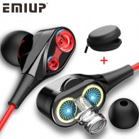 US $1.11 20% OFF 3.5mm Wired earphone Dual Drive Stereo earphone In ear Headset Earbuds Bass Earphones For iPhone 7 Samsung Sport Gaming Headset-in Phone Earphones & Headphones from Consumer Electronics on Aliexpress.com   Alibaba Group