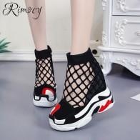 2027.11 руб. |Rimocy женские туфли на танкетке увеличивающие рост супер Обувь на высоком каблуке туфли на плоской подошве повседневная обувь на платформе женская обувь летние, воздушные, сетчатые vulcanizes-in Женская вулканизированная обувь from Туфли on Aliexpress.com | Alibaba Group