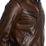 Мужская кожаная куртка Vivamood ME-3711-A-2 - Мужские кожаные куртки