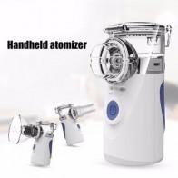 Забота о здоровье, портативный мини-ингалятор, Бесшумный ультразвуковой ингалятор, перезаряжаемый автоматический ингалятор для детей и вз...