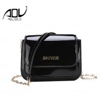 Яркий сплошной Лакированная кожа Для женщин мода сумка мешок простые женские роскошные сумки Повседневное сумка SAC основной купить на AliExpress