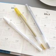 145.88 руб. 24% СКИДКА|JIANWU 1 шт. японская Сакура высокий свет марке ручка черный картон металлическая ручка белая линия ручки-in Маркеры для рисования from Офисные и школьные принадлежности on Aliexpress.com | Alibaba Group