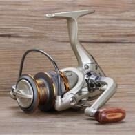 2020 новая рыболовная Катушка деревянная рукопожатие 12 + 1BB спиннинговая Рыболовная катушка Профессиональные Металлические Левые/правосторо...