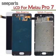 4371.26 руб. 5% СКИДКА|Новый Meizu Pro7 Pro 7 ЖК дисплей с сенсорным экраном дигитайзер сборка M792M M792H замена экрана для 5,2