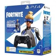 Геймпад для консоли PS4 PlayStation 4 Dualshock v2 Black+Fortnite