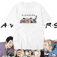 Мужская футболка с принтом Мстители, Мстители, летние футболки с коротким рукавом, уличная одежда - Футболки и рубашки