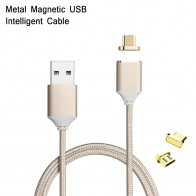 Оплетка Micro мини USB кабели Магнитная шнур для зарядки и передачи данных Быстрая зарядка кабель для lenovo zte Moto OPPO Vivo ASUS LG телефона Android купить на AliExpress