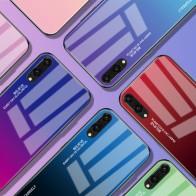 € 2.51 30% de DESCUENTO|Gradiente de cristal templado de teléfono funda para Huawei Honor 8X amigo 20 Pro Mate 10 P20 Lite P Smart Plus Nova 3i 3 4 P30 cubierta-in Cajas ajustadas from Teléfonos celulares y telecomunicaciones on Aliexpress.com | Alibaba Group