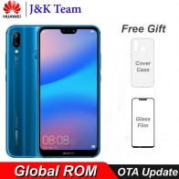 13805.38 руб. |Huawei P20 Lite глобальная прошивка Nova 3e 4G LTE мобильный телефон Лицо ID 5,84