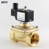 1522.3 руб. 8% СКИДКА|AC110V/220 V/380 V, DC12V/24 V, нормально закрытый электромагнитный клапан для воды, латунь, воздушные клапаны DN10 DN15 DN20 DN25 DN32 DN40 DN50-in Клапан from Товары для дома on Aliexpress.com | Alibaba Group