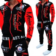 1537.99 руб. 51% СКИДКА|Мужской спортивный костюм с капюшоном, куртка, спортивный костюм для мужчин s, новый бренд, спортивная одежда, мужской набор для бегунов Толстовка с принтом, мужская одежда 2018-in Мужские наборы from Мужская одежда on Aliexpress.com | Alibaba Group