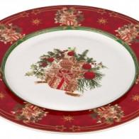Купить Тарелка подстановочная Lefard 586-315 Christmas Collection, 26 см по низкой цене с доставкой из Яндекс.Маркета - Посуда для праздника