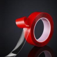 Vexverm Автомобильная акриловая лента Прозрачная силиконовая двухсторонняя лента наклейка для автомобиля высокопрочная клейкая наклейка без...