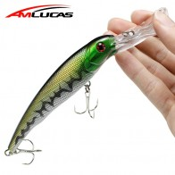 US $0.97 25% OFF|Amlucas Big Minnow Fishing Lure 16.5cm 27.1g Crankbait Wobblers Fish Hard Bait with 2 Fishing Hooks Fishing Tackle WW187        -in Fishing Lures from Sports & Entertainment on Aliexpress.com | Alibaba Group