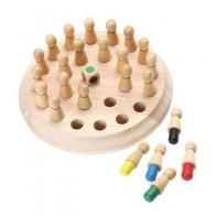 Детские деревянные карты памяти, шахматная игра, детская ранняя развивающая игрушка, 3D головоломка, семейные вечерние повседневные игровые... - Для вечеров с детьми