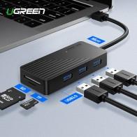 1045.6 руб. 25% СКИДКА|Ugreen 5 в 1 взаимный обмен данными между компьютером и периферийными устройствами USB концентратор с кард ридер 3 Порты и разъёмы USB 3,0 HUB разветвитель Micro USB Мощность Порты и разъёмы Для iMac аксессуары для ноутбуков USB HUB-in USB-хабы from Компьютер и офис on Aliexpress.com | Alibaba Group