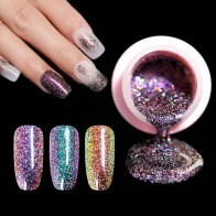 US $0.99 29% OFF UR SUGAR 5ml Chameleon Holographic Gel Polish Starry Sparkle Glitter Soak Off UV Gel Varnish Nail Art Lacquer Enamel-in Nail Gel from Beauty & Health on Aliexpress.com   Alibaba Group