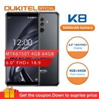 7888.51 руб. |OUKITEL K8 Android 8,0 6,0