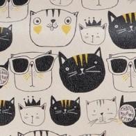 "Городской рюкзак ""Monochrome Cats"" - Веселые рюкзаки Dogo"