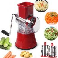 Овощерезка, круглые терки для резки картофеля, моркови, сыра, измельчитель, мясорубка, овощерезка, кухонный ролик, гаджеты, инструмент