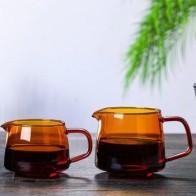 Термостойкий стеклянный кофейник, стеклянный кофейник, кофейные напитки и водонагреватель, домашний ручной Стеклянный Горшок для деления, ... - Чай вдвоем