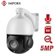 15562.94 руб. 15% СКИДКА|Audio x 5MP 36X зум аудио купольная ip камера c технологией питания poe PTZ ip камера безопасности наружная сеть ночного видения 360 высокая скорость HD CCTV Камера-in Камеры видеонаблюдения from Безопасность и защита on Aliexpress.com | Alibaba Group
