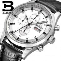 3835.16 руб. 49% СКИДКА|Швейцарские мужские часы сапфировые часы Binger мужские брендовые Роскошные Мужские кварцевые часы водонепроницаемые светящиеся наручные часы хронограф-in Повседневные часы from Ручные часы on Aliexpress.com | Alibaba Group