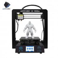 13265.2 руб. 34% СКИДКА|ANYCUBIC 3d принтер I3 Мега Плюс Размер Полный металлический каркас платформа настольный промышленный класс высокая точность 3d Drucker наборы нити купить на AliExpress