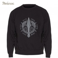 US $8.78 41% OFF|Odin Vikings Sweatshirt Men Viking Berserker Stylish Hoodie Crewneck Sweatshirts Winter Autumn Black Streetwear Cool Loose Mens-in Hoodies & Sweatshirts from Men
