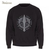 US $8.78 41% OFF|Odin Vikings Sweatshirt Men Viking Berserker Stylish Hoodie Crewneck Sweatshirts Winter Autumn Black Streetwear Cool Loose Mens-in Hoodies & Sweatshirts from Men